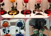 Flores preservadas en navidad de florlicol