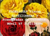 Flores naturales preservada fÓrmula mejorada
