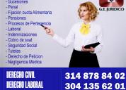 Asesoria juridica en todas las areas del derecho