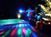 Alquiler de sonido e iluminación en chinauta