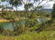 Lote con vista a la represa guatape