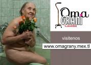 Para amantes de abuelas mayores de 50,60,70 aÑos