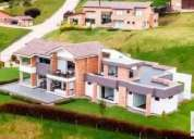 Casa campestre en arriendo venta en chia horizontes reservados 5 dormitorios 2800 m2