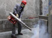 Servicio de fumigación silvania, control de plagas