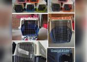 Jaulas plásticas para transportar mascotas