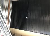 Vendo puerta para garage metalica
