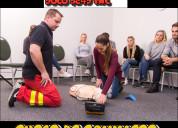 Curso de primeros auxilios y camillero