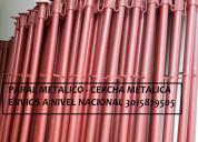 Paral metalico largo 2 mt nuevos