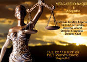 Abogados servicios jurídicos especializados