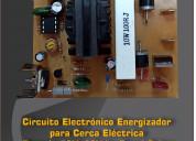 Circuito electrónico para cerca eléctrica