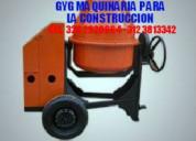 Mezcladora para concreto garantía 1 año