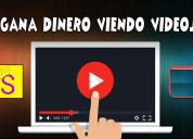 Gana dinero viendo videos desde tu celular