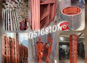 Estructura metalica para obras