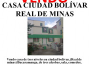 Casa ciudad bolívar real de minas