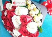 Flores y regalos día de la mujer