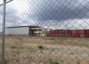 Se vende lote industrial en madrid 12.309 m2