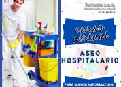Curso virtual de aseo hospitalario