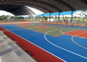 Recuperacion de espacios deportivos