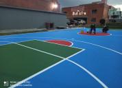 Reparaciones de espacios deportivos