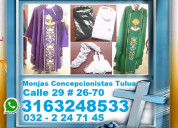⭐ bordados, bordamos logos, diseños, casullas, alb