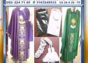 ⭐ ornamentos liturgicos, casullas, albas, camisas