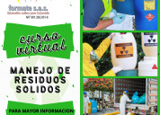 Curso de manejo de residuos solidos