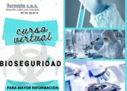 Curso virtual de bioseguridad