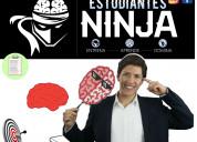 Programa estudiantes ninja pablo lomeli