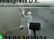 Pintura aplicacion rapida  bogota tel 3508398921