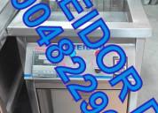 Freidor industrial vitrinas estantes