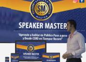 Curso speaker master – daniel gómez