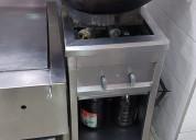 ¡se vende restaurante comida wok!