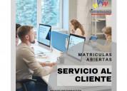 Curso de servicio al cliente