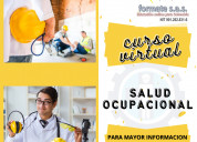 Curso virtual de salud ocupacional