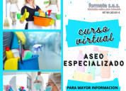 Curso virtual de aseo especializado