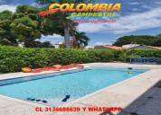 Cc915 linda casa con piscina privada en ricaurte