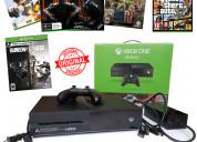 Xbox one 500gb 2 controles 74 juegos originales