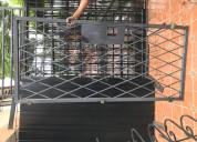 Vendo reja de hierro para seguridad de porton