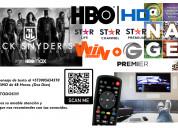 Television iks satelital decodificador antena