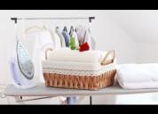 Servicio de lavado y planchado de prendas