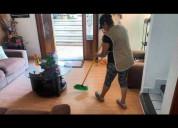 Servicio de aseo domestico