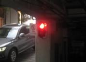 Semaforos (rojo,verde) control de acseso.