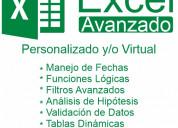 Excel basico - intermedio - avanzado