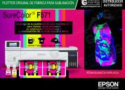 Sublimación neón epson sc f571, colombia