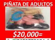 Rellenos para piñata de adultos en bucaramanga