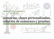 Clases particulares y asesorías académicas