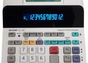 Vendo sharp el-1901 calculadora de impresiÓn sin p