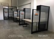 Divisiones y mobiliario oficina