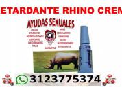 Rhino crema azul el retardante sexual informes 312