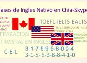 Clases cursoso de ingles nativo  ealts toefl  itep